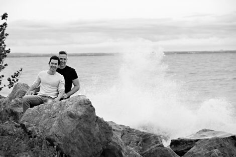 photography by shelly, stoney creek engagement