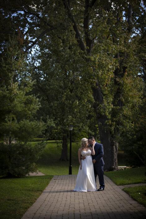 elopement photography in niagara falls canada